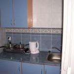 Kuchnia w domku szeregowym